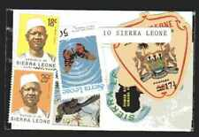 Sierra Leone 10 timbres différents