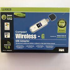 Linksys Wireless-G USB Stick Network Adapter WUSB54GC by Cisco New In Box