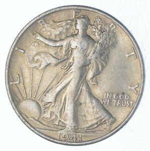 Better 1941-D - US Walking Liberty 90% Silver Half Dollar Coin Set Break *721
