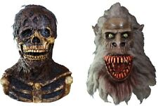 Creepshow - Nate & Fluffy The Crat Latex Deluxe Masks TOT's Officially Licensed