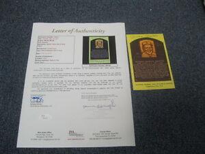 Mickey Mantle Autographed HOF Postcard Yankees JSA Certified