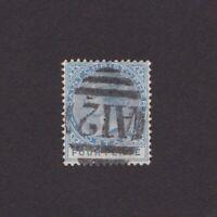 ST. CHRISTOPHER 1882, Sc# 13, CV $27, Wmk Crown-CA, Perf 14, Used