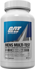 GAT MENS MULTI+TEST 60/150 TABLETS FREE SHIPPING 2021 Expiration FREE SHIPPING