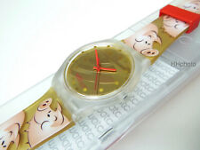 """Swatch: Jelly in """" Trollbeads Lucky """" (SUJK119) Chinese New Year New/Rarely"""