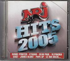 CD ALBUM NRJ HITS 2005 / JAMES BLUNT SEAN PAUL M. POKORA ETC