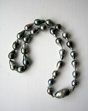 Saltwater Tahitian pearl necklace