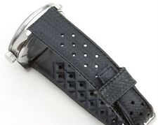 NOS 19mm perforated rubber vintage divers watch band EBAY's best price 100+ sold