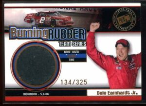 2007 Press Pass Burning Rubber Team 7 Dale Earnhardt Jr. Tire 134/325