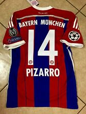 Germany bayern Munich Pizarro Peru Soccer S,M,L,XL,jersey Adidas football shirt