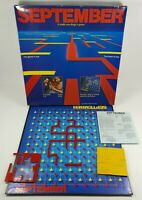 Vintage September Deluxe Board Game 1985 Papadigm Games Great Condition Retro