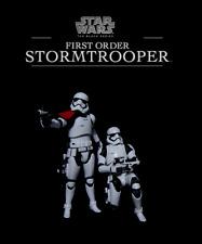 "Star Wars Black Series: First Order OFFICER & STORMTROOPER 6"" Movie Figure Set"