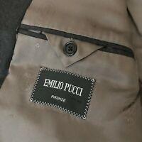 EMILIO PUCCI FIRENZE rare mens two button Blazer size XL