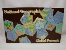 Vintage 1987 National Geographic Global Pursuit Trivia Family Board Game Unused