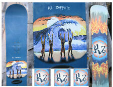 Snowboard K2 Zeppelin Surf Wave Incredible Graphics Art in  San Diego