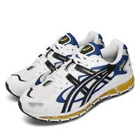 Asics Gel-Kayano 5 360 White Blue Yellow Mens Road Running Shoes 1021A159-100