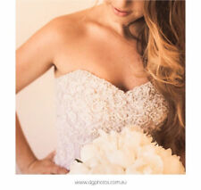 Wedding Dress Personalised Weddings Couture - Size 8 - Excellent Condition
