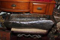 Large Antique Wood Carved Planter Basin Cooking Vessel Primitive Wood