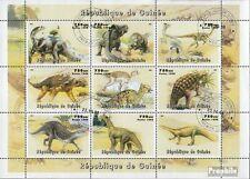 Guinea 19981P1 Kleinbogen (kompl.Ausg.) gestempelt 1998 Prähistorische Tiere