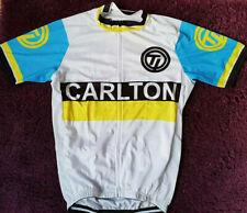UK Vintage Cycling Jersey CARLTON TEAM BIKE JERSEY Road MTB Shorts Bicycle Shirt