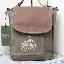NEW Myra Bag BIKEME Small Crossbody Bag Leather Accents Canvas Purse for Women