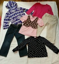 girls 4T fall /winter, 6 piece clothing lot