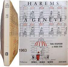 Harems à Genève 1963 Buckingham Etter couverture Sempé Yémen arabes moeurs