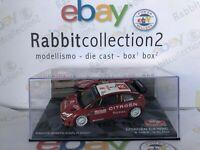"""DIE CAST """" CITROEN C4 WRC RALLY MONTE CARLO 2007 S. LOEB D. ELENA """"  1/43"""