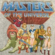 NWT Masters of the Universe He-Man Teela Grayskull Graphic T-shirt Men's Small