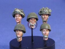 Resicast 1/35 British Airborne Paratrooper Heads No.2 (5 Different Heads) 355535