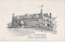 POSTCARD  MAIDSTONE  Tudor House  Ashford Road