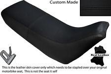 BLACK STITCH CUSTOM FITS YAMAHA XT 660 Z TENERE 3YF OLD SHAPE LEATHER SEAT COVER