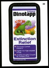 2013 Topps Wacky Packages ANS 11 Series 11 Die-Cut Card #22 ~ Dinotapp