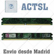 2GB (2x1GB) DDR2 800 PC Desktop RAM DIMM PC2 6400 DDR-2 DDR 2 800Mhz 800 Mhz