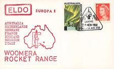 "ELDO-5 FDC AUSTRALIE WOOMERA ""Lancement Fusée EUROPA I - Vol F.7."" 1968"
