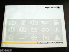 Betriebsanleitung Opel Astra F von August 1993