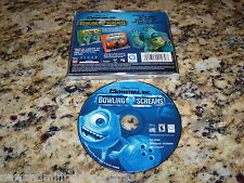 Monsters Inc.Bowling Screams (PC, 2001) Game Windows