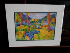 Susan Szabo Print Peaceful Life Limited Edition Giclee Print Signed Matted