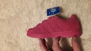 ADIDAS SUPERSTAR (RIGHT SHOE ONLY) PINK TODDLER SIZE 11.5 K  AMPUTEE