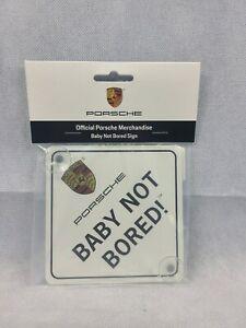 Porsche Merchandise Baby Not Bored! 911 944 928 996 986 987 991 Carrera Boxster