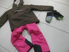 Girls NAPAPIJRI RAINFOREST WINTER jacket CRANE SKI SUIT bundle age 5 6 years