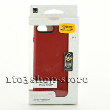 "OtterBox SYMMETRY Hard Shell Slim Snap Cover Case for 5.5"" iPhone 7 Plus Red NEW"