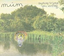 M£M - SING ALONG TO SONGS YOU DON'T KNOW [DIGIPAK] NEW CD