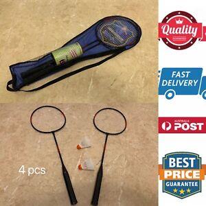 4pcs Badminton Set Special, Family Fun Playground Beach Easy Exercise,AU Stock
