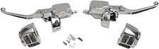 American Ironhorse Dual Disc Handlebar Control Set NEW Chrome Texas Chopper LSC
