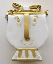 """NEW Disney Parks """"The Dress Shop"""" Beauty And The Beast """"Chip"""" Crossbody Purse"""