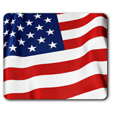 Computer Mouse Mat - American Flying Flag USA US Office Gift #15623