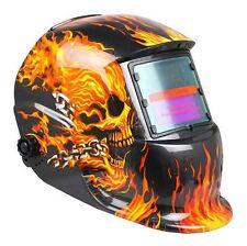 Pro Solar Welder Mask Auto-Darkening Welding Helmet Arc Tig Mig Grinding sKULL2