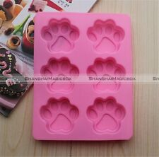 Cat's Paw Silicone DIY Mold Ice Cube Candy Jelly Cake Cupcake Soap Craft Mold S8