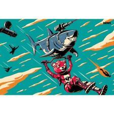 Fortnite Poster Laser Shark 113 Official Merchandise