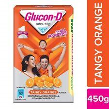 Glucon-D Glucose Based Beverage Mix, Orange, 450g*uk